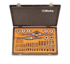Beta Set 30 assortimento di maschi e filiere con accessori + cassetta 446/C30
