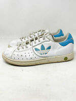 ADIDAS Respect Vintage Sneakers Basse Bianche In Pelle Leather EUR 42 Uomo Man