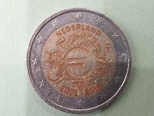 Pièce commémorative de 2 euros € : 2 € nederland - pays bas 2012 - 10 ans euro