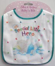 Elliot & Buttons baby boy bib Special Little Hero ideal gift