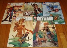 Skyward 1 2 3 4 5 1st Prints Jeremy Dale Action Lab
