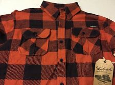 Flannel Shirt Sz 14-16 Orange Woolrich