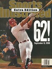 ST LOUIS CARDINALS MARK MCGWIRE 1998 SPORTS ILLUSTRATED SPECIAL EDITION RECORD