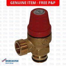 Worcester 15sbi & 24sbi sollievo dalla pressione valvola di sicurezza 87161424040-NUOVO