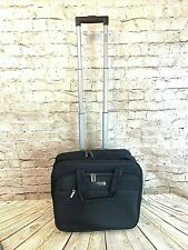 Kenneth Cole Rolling Carry-on Bag Travel Laptop Case Briefcase Suitcase Nylon
