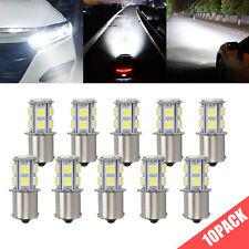 10x Cool White 1156 13 Smd Rv Camper Trailer Led Interior Light Bulbs 1073 1141