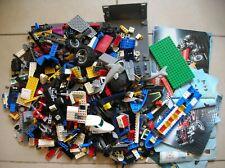 Gros lot de 2,6 kilos de LEGO à trier briques roues accessoires et notices Lego