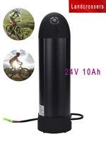 24V 10Ah Bottle Lithium Li-ion Electric Bike Scooter Battery DC E-Bike Battery