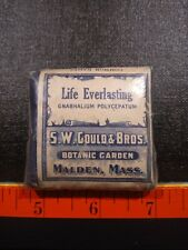 Vintage Life Everlasting Crude Drug Package.