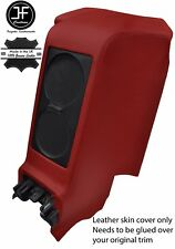 DARK RED REAR CENTRE SUBWOOFER PANEL REAL LEATHER COVER FITS GT-R R35 2009-2017