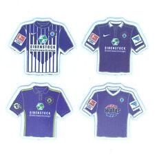 4er FC Erzgebirge Aue Magnet Set - Trikot Magnete - Fussball AMBALLCOM