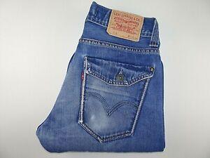 """LEVIS 506 Mens Jeans Blue Denim Straight Leg SIZE W32 L36 Waist 32"""" Leg 36"""" LEVI"""