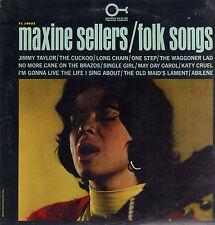 MAXINE SELLERS - FOLK SONGS (1964 US FOLK VINYL LP)