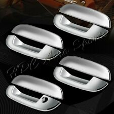 For 2002-2009 GMC Envoy/Chevy Trailblazer Mirror Chrome Door Handle Cover 8-PCS