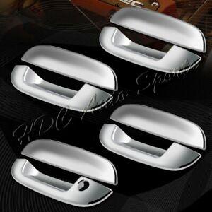 For 2002-2009 GMC Envoy/Chevy Trailblazer Mirror Chrome Door Handle Cover 8-PCS