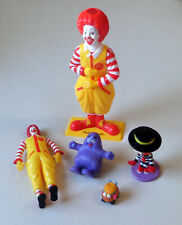 Lot of McDonalds Happy Meal Promotional Toys Inc. Build-a-Ronald (2001)