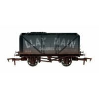 Dapol 4F-080-129 OO Gauge 8 Plank Wagon Llay Main 954 Weathered