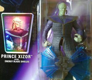 Star Wars Prince Xizor w/ Energy Blade Shield, Shadows of the Empire purple card