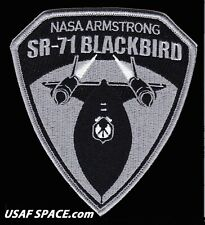 NEW - NASA ARMSTRONG SR-71 BLACKBIRD ORIGINAL USAF NASA DRYDEN SPACE PATCH