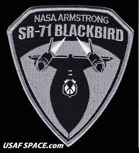 NASA ARMSTRONG - SR-71 BLACKBIRD - ORIGINAL - USAF NASA DRYDEN SPACE PATCH MINT