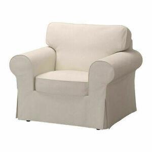 * New Original IKEA cover set for Ektorp Armchair in LOFALLET BEIGE *
