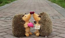 1 Pair Howie Hedgehog Plush Stuffed Animal Toy Room Decoration