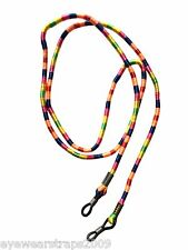 NEW Loomed Bright Multi Coloured Glasses / Sunglasses Strap Band Cord Holder