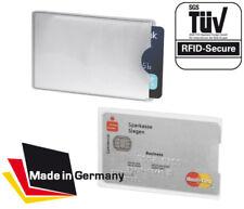 RFID Schutzhülle NEU Anti Skimming EC Kartenhülle Kreditkarte TÜV Geprüft NFC
