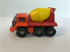 Vintage Tonka Small Cement Mixer USA Diecast Plastic L1