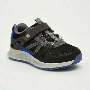 Toddler Boys' Lane Surprize By Stride Rite Light Up Sneakers Black Size5*