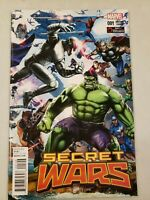 Secret Wars #1 Greg Horn Gamestop Exclusive Var Marvel Comics 1st Print 2015