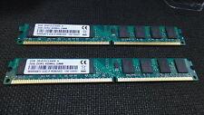 KIT RAM 4GB (2X 2GB) DDR2 PC2-6400 800MHz 800  MEMORIA PER AMD PC2-6400U 240PIN