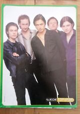 SUEDE 'Top Pops' magazine PHOTO/Poster/clipping 11x8 inches