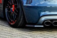 For Audi TTS 8J Rear Side Flaps Bumper Skirt spoilers Valance Splitter