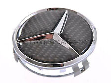 Mercedes Alloy Wheel Centre/Hub Cap (Carbon Fibre) 75mm (Singles)