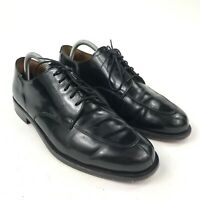 Men's Cole Haan Calhoun Apron Split Black leather Oxford Dress Shoes Size 9 D