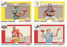 Lot of 15 2009 Topps Magic All American Football Wal Mart  set of 15 complete