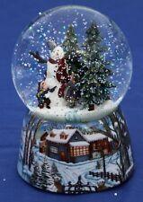 Musical Snow Globe-Bonhomme de neige