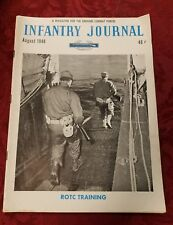 Vintage August 1948 The Infantry Journal Magazine for The Ground Combat Forces