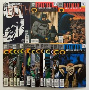 Batman Gotham Knights #1 to #74 complete series (DC 2000) 74 x VF & NM issues.