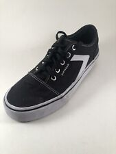Airwalk Rieder Pro 176430 Black White Sneakers Shoes Mens size 7 Womens Size 9