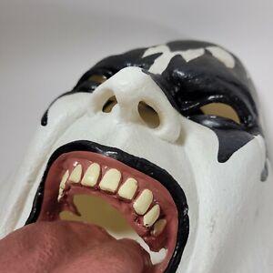 KISS Gene Simmons Rubber Mask Paper Magic Adult Size 1977 Rock n Roll Merch
