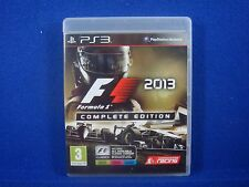 ps3 F1 2013 Formula 1 One COMPLETE EDITION Racing Game Playstation PAL