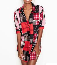 Victoria Secret Flannel Sleepshirt New Size Small