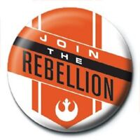 STAR WARS join the rebellion - BUTTON BADGE official licensed merchandise SW18