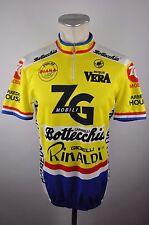 Castelli Radtrikot Trikot cycling jersey maglia Gr. L 54cm ZG Mobili vintage E04