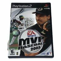 MVP Baseball 2003 Sony PlayStation 2 PS2 Complete w/Manual Tested Works CIB