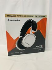 SteelSeries Arctis 7 White (2019 Edition) Headband Headset for PC and..