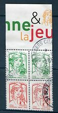 RARE DOUBLE PAIRE 4767+4774 VERTICALE OBLITEREE  - ISSUE DE FEUILLE F4774A