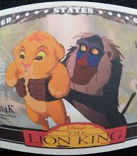 The Lion King FREE SHIPPING! Million-dollar novelty bill